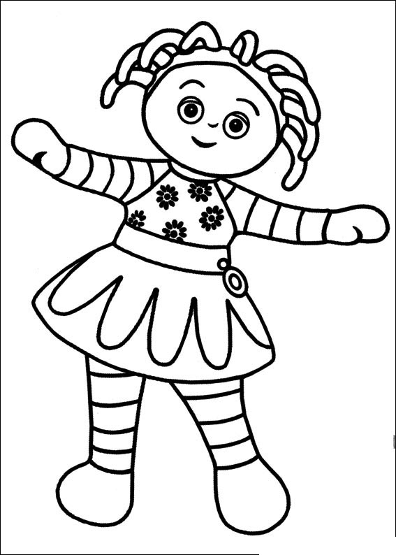 In-The-Night-Garden-Coloring-Pages16 | Coloring Kids