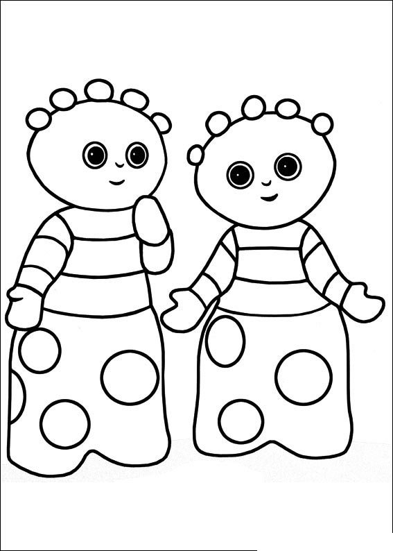 night garden coloring pages print - photo #16