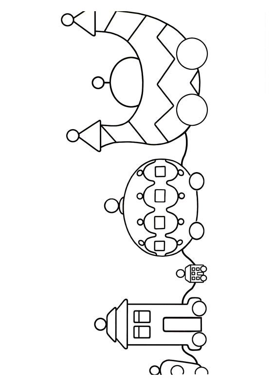 pontipines coloring pages - photo#11