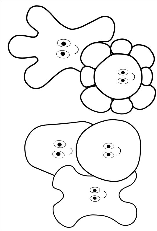 night garden coloring pages print - photo #7