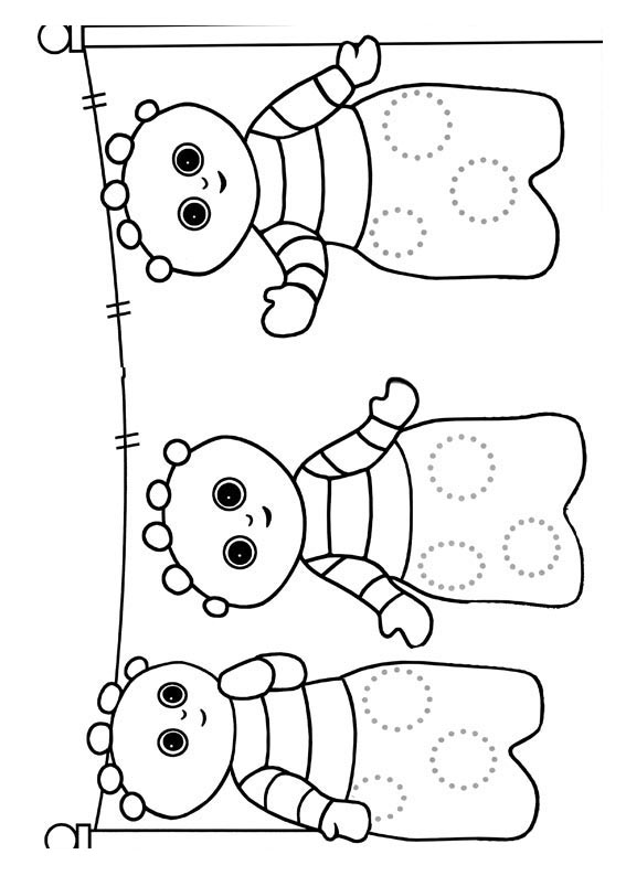 night garden coloring pages print - photo #4