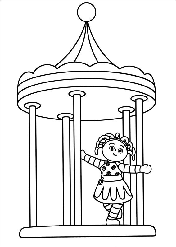 night garden coloring pages print - photo #14