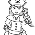 incredible Pirate Coloring Pages : Gallery Photos - miamiumie