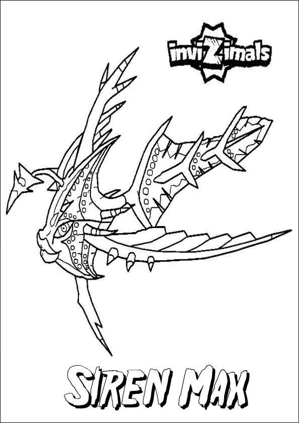 Invizimals Coloring Pages (2)