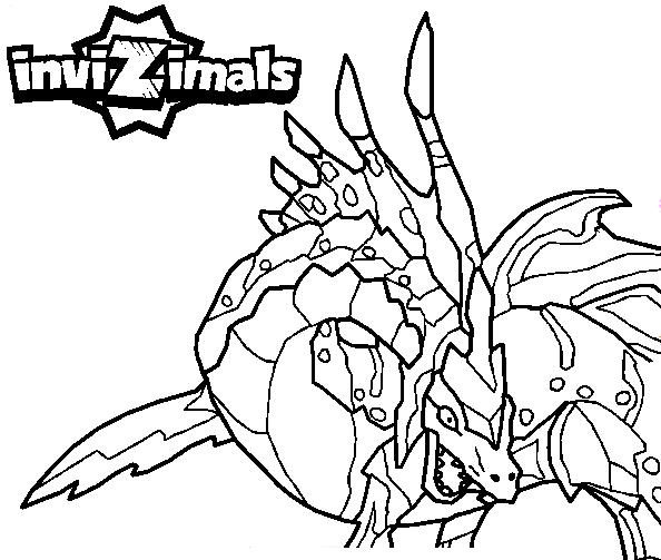 Invizimals Coloring Pages5 Coloring Kids