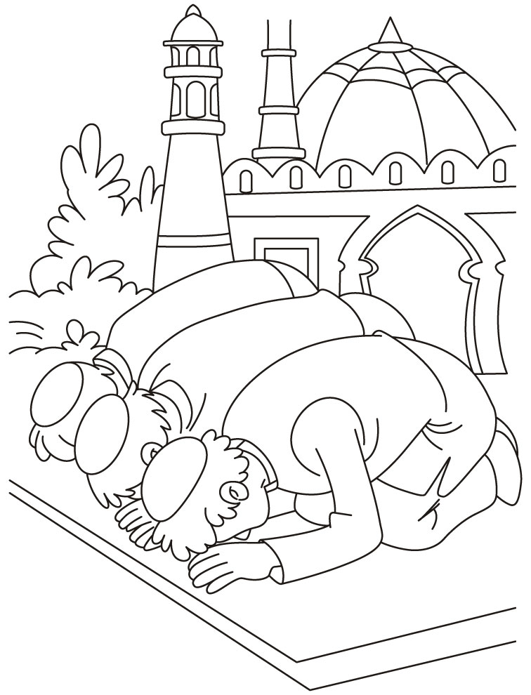 Islamic Coloring Pages 1 Coloring