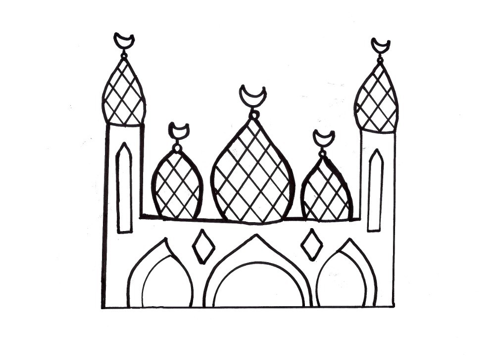 Muslim Coloring Pages Printable Pages Picture 1 U2013 Muslim Coloring Pages