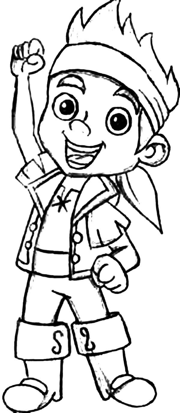 Jake The Leader Of Never Land Pirates Coloring Page Kids Play Jake And The Neverland Coloring Pages To Print