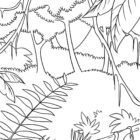 jungle coloring pages 17 140x140 Jungle Coloring Pages
