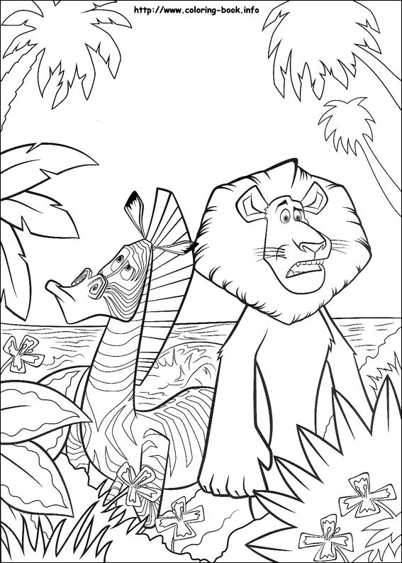 Jungle Coloring Pages (19)