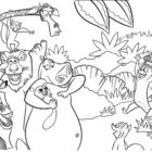 jungle coloring pages 2 140x140 Jungle Coloring Pages