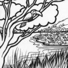 jungle coloring pages 22 140x140 Jungle Coloring Pages
