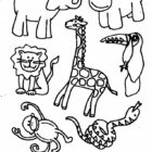 jungle coloring pages 23 140x140 Jungle Coloring Pages