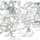 jungle coloring pages 3 140x140 Jungle Coloring Pages
