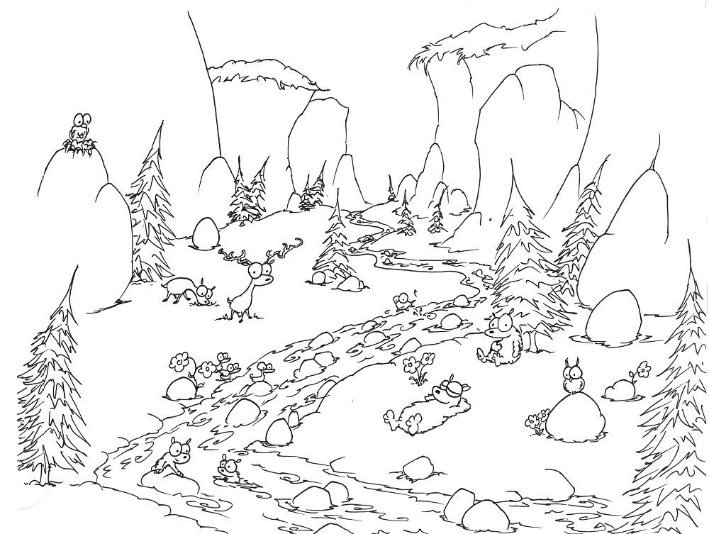 Jungle Coloring Pages (31)