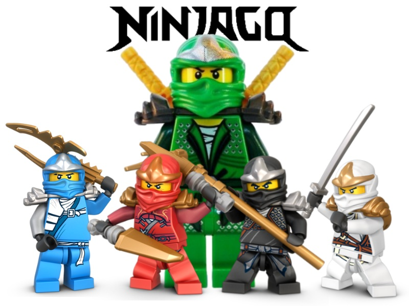 Ninjago coloring pages