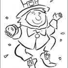 leprechaun coloring pages 2 140x140 Leprechaun Coloring Pages