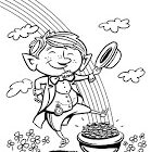 Leprechaun Coloring Pages (4)