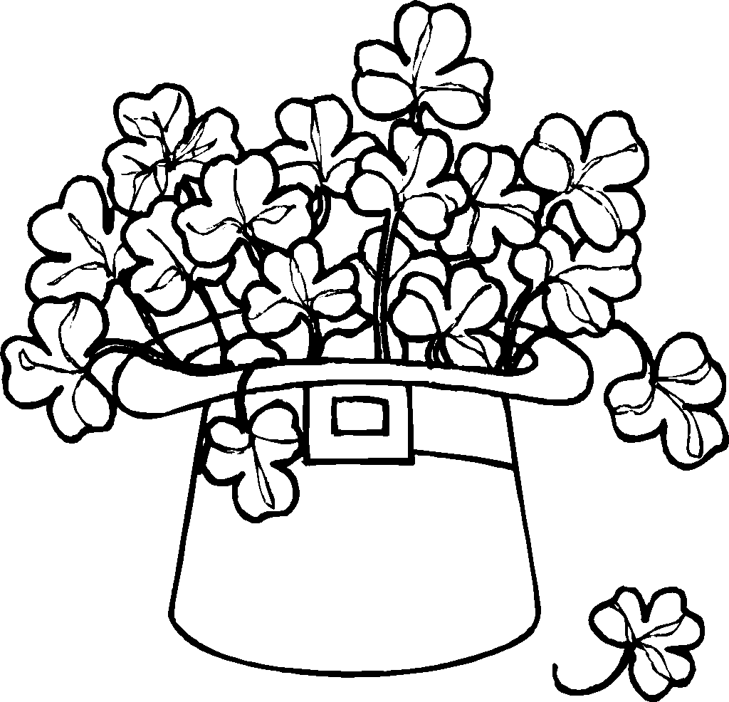 download leprechaun coloring pages 9