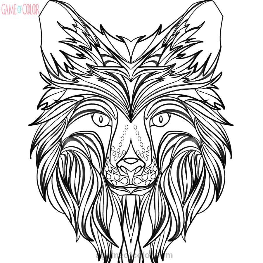 Intricate Coloring Pages Print