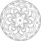 mandala coloring pages 12 140x140 Mandala Coloring Pages