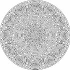 mandala coloring pages 2 140x140 Mandala Coloring Pages