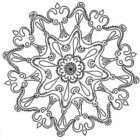 mandala coloring pages 7 140x140 Mandala Coloring Pages