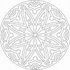 mandala coloring pages 8 140x140 Mandala Coloring Pages