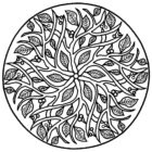 mandala coloring pages 9 140x140 Mandala Coloring Pages