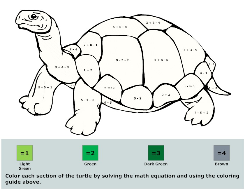 Math Coloring Pages (8) | Coloring Kids