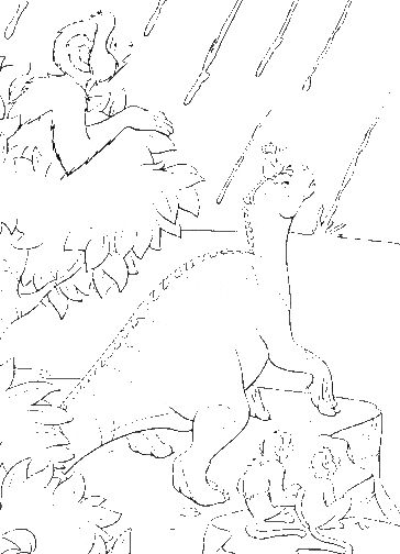 meteor and frinds coloring pages - photo#33