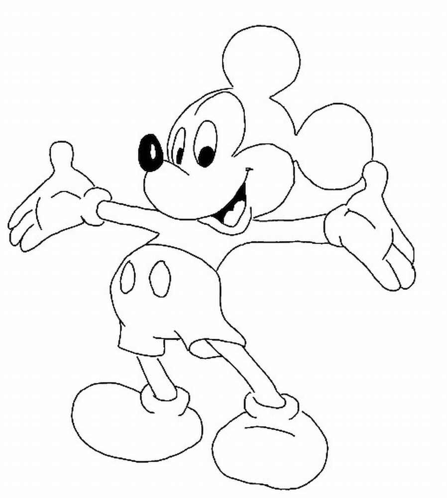 Mickey mouse clubhouse coloring pages free for Mickey mouse coloring pages free printable