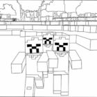 Minecraft-Coloring-Pages-Picture-3-550×490