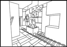 Minecraft Coloring Pages | Coloring Kids
