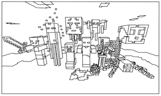minecraft coloring pages - Minecraft Coloring Books