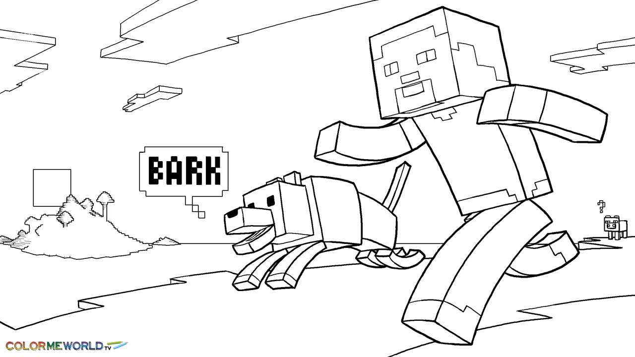 minecraft coloring sheets - Etame.mibawa.co