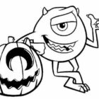 Monsters inc halloween-coloringkids.org