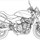 Motorcycle Coloring Pages (2)