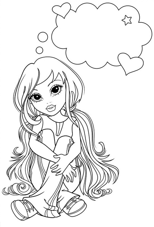 Moxie Girlz Coloring Pages 1 Coloring Kids Moxie Girlz Colouring Pages