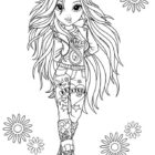 Moxie Girlz Coloring Pages (3)
