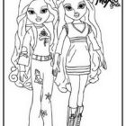 Moxie Girlz Coloring Pages (4)
