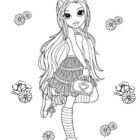 Moxie Girlz Coloring Pages (7)