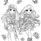 Moxie Girlz Coloring Pages (9)