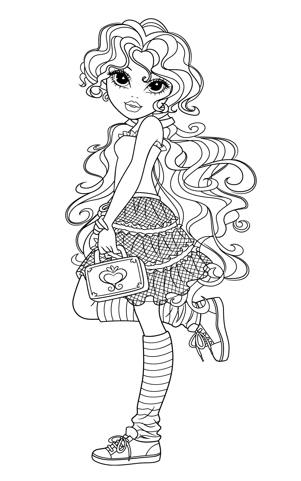 Moxie Girlz Coloring Pages2 Coloring Kids