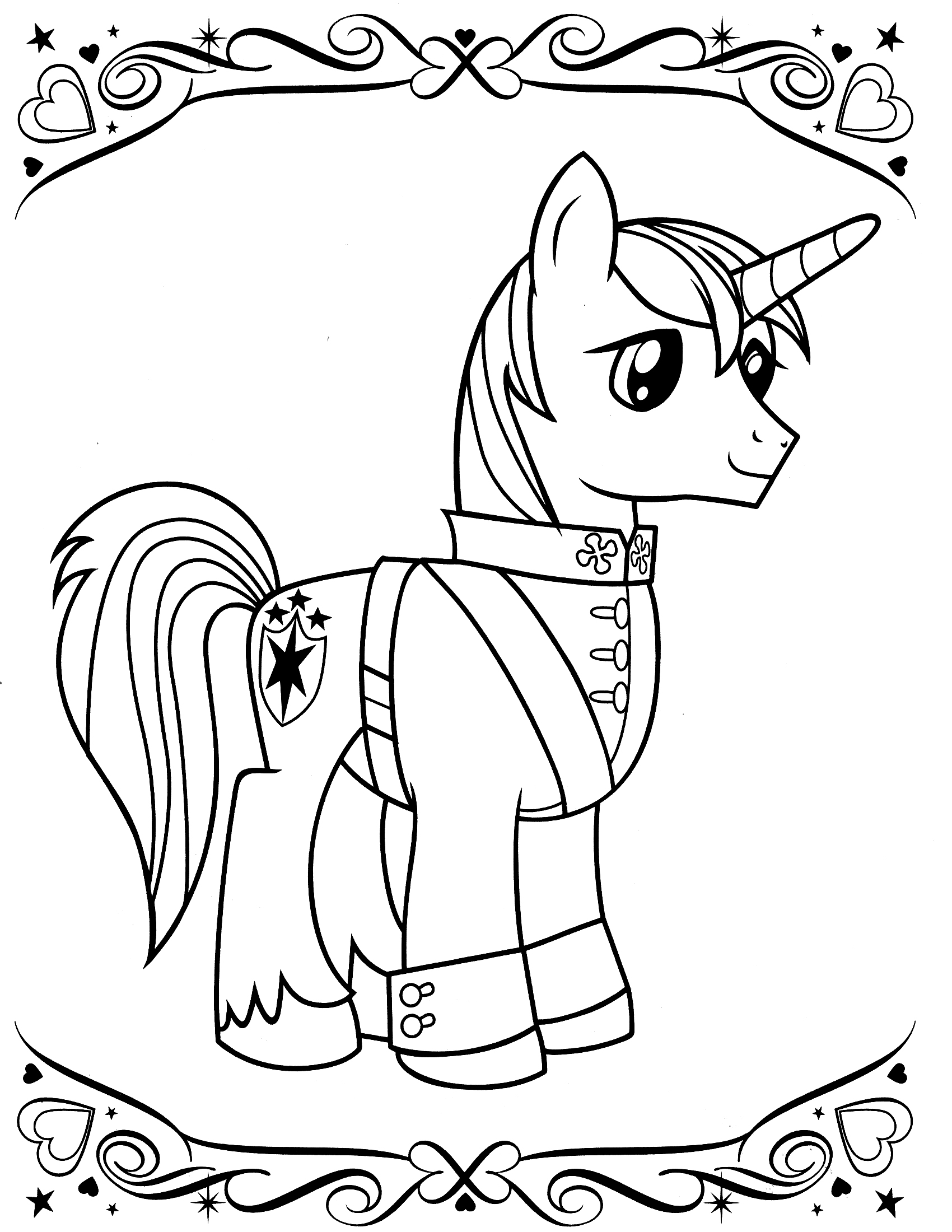 download my little pony coloring page 18