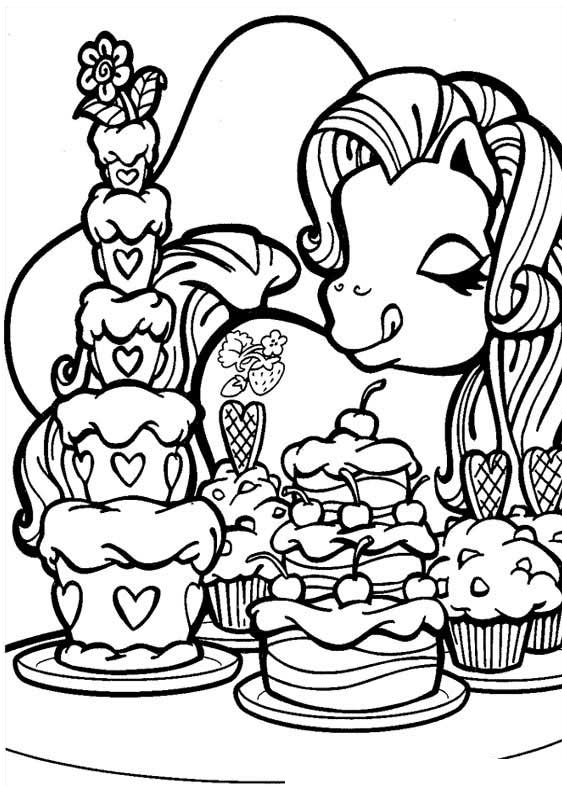My little pony coloring pages 30 coloring kids for My little pony print out coloring pages