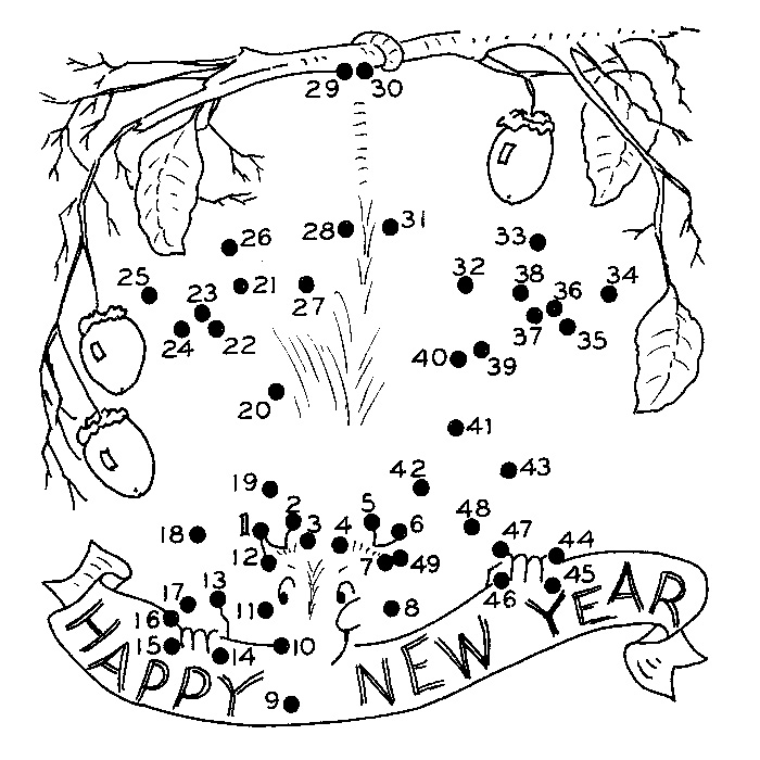 Download New Year Coloring Pages 3