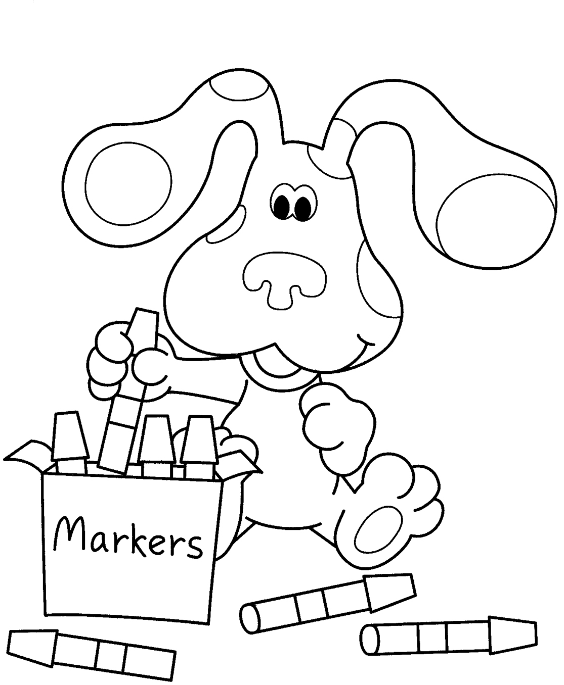 Download Nick Jr Coloring Pages 14 Print