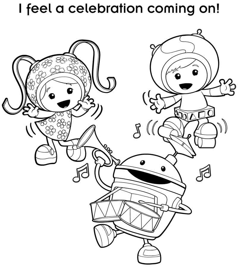 Nick Jr Coloring Pages 7 Coloring