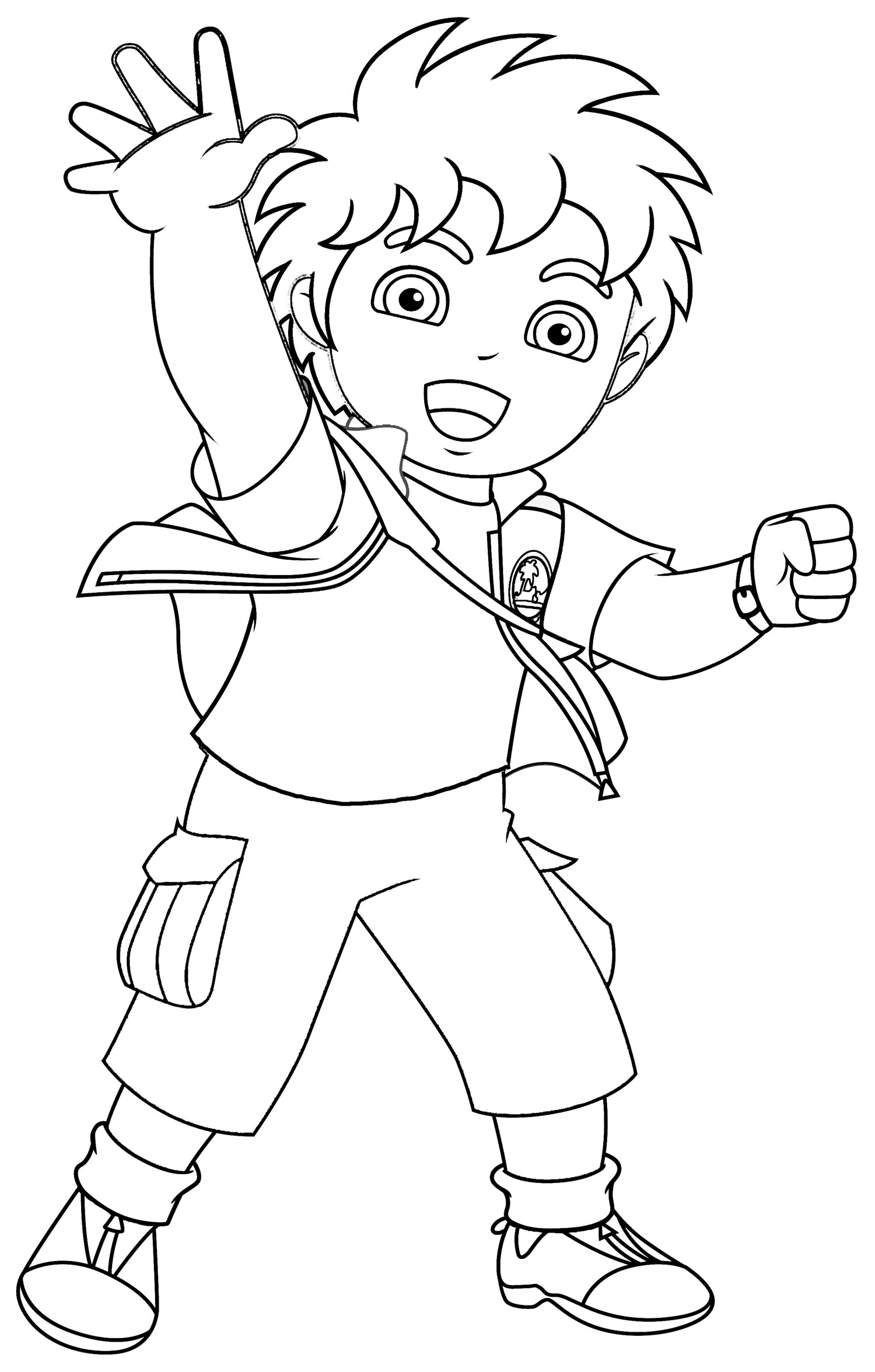 Download Nick Jr Coloring Pages 8 Print